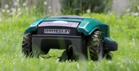 Rasenmäher Roboter Test