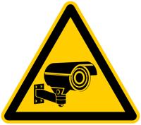 Achtung Überwachungskamera