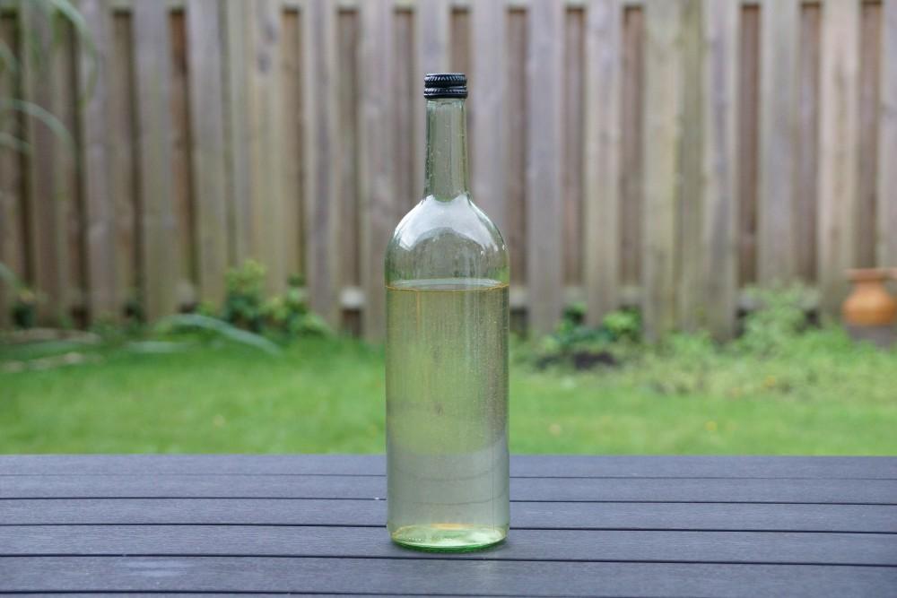 Apfelwein selber machen Flasche