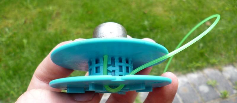 Spule zum selber Wickeln - Fadenspule für Gardena® Rasentrimmer