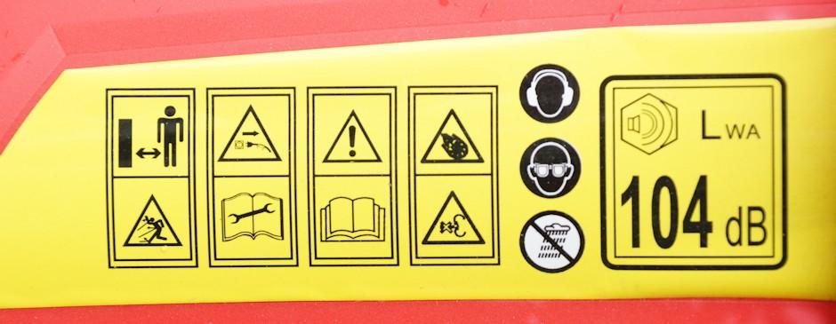 Warnhinweis zur Lautstärke und Hinweise zum Gebrauch