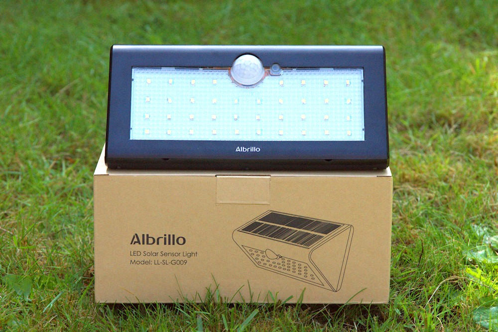 albrillo led solarlampe im test. Black Bedroom Furniture Sets. Home Design Ideas