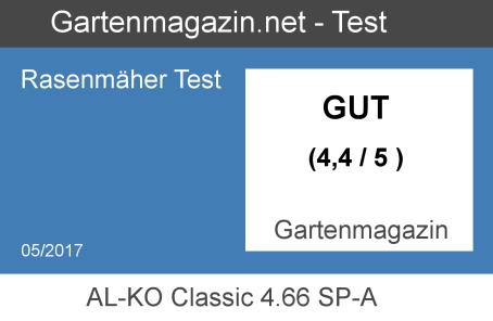 AL-KO Classic 4.66 SP-A testbadge