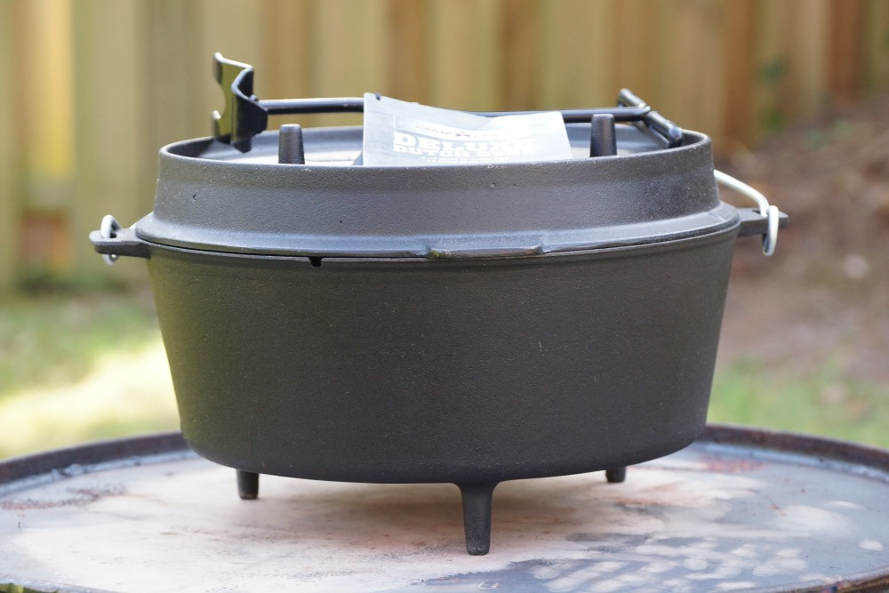 Deluxe Dutch Oven Camp Chef Test