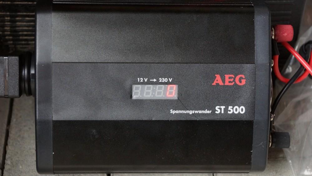 Spannungswandler 500 Watt AEG