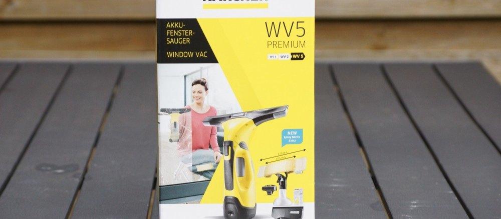 Kärcher Fenstersauger WV 5 Test