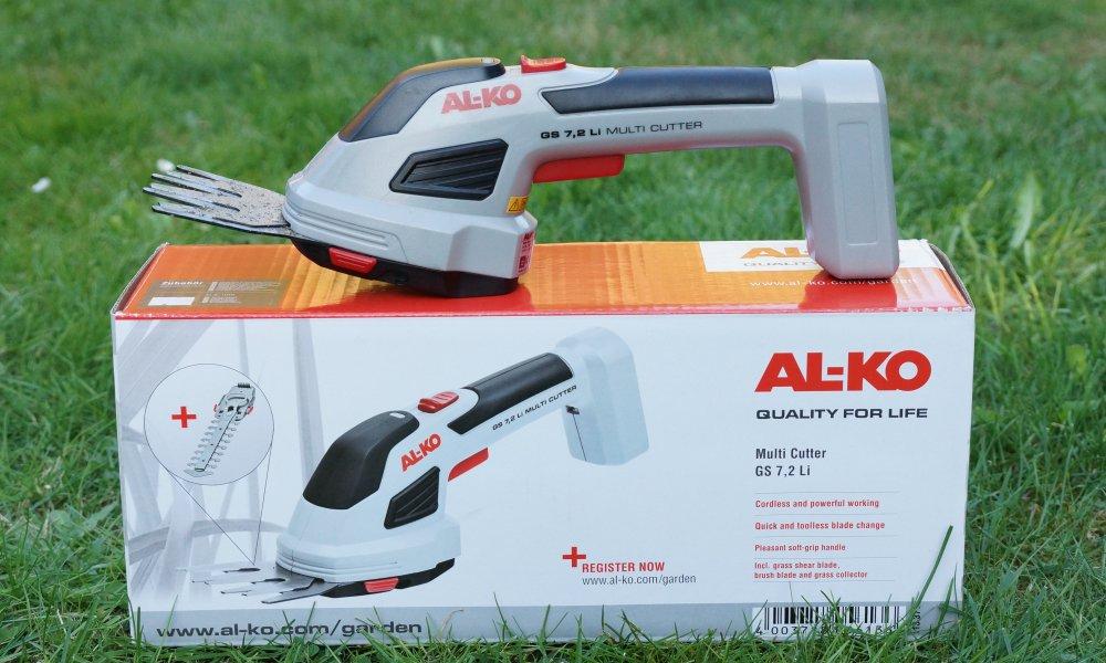 AL-KO Multi Cutter Test Gras Strauchschere