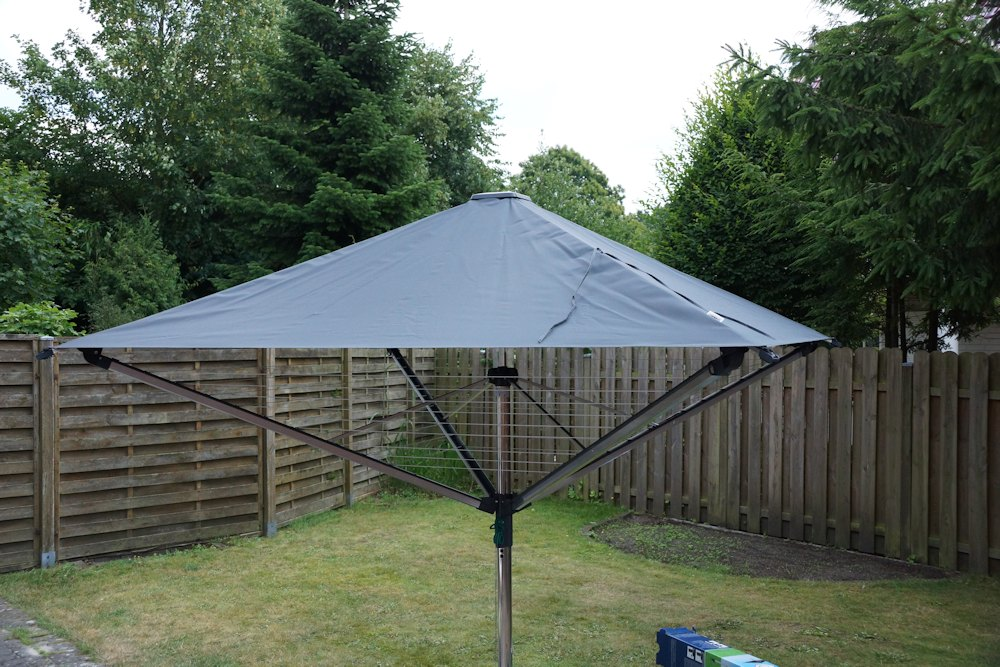 Leifheit Linoprotect 400 Test - Wäschespinne mit Dach