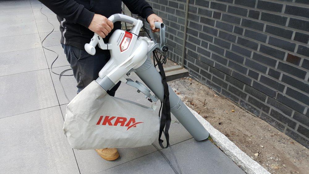 IKRA Laubsauger ILS 3000E Test