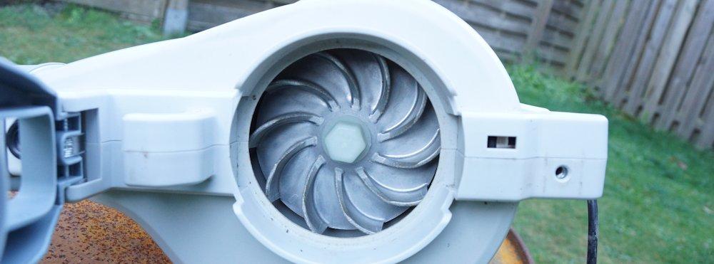Lüfterrad aus Aluminium IKRA ILS 3000E
